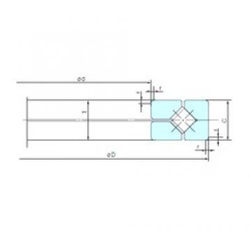 NACHI 0901XRN112 thrust roller bearings