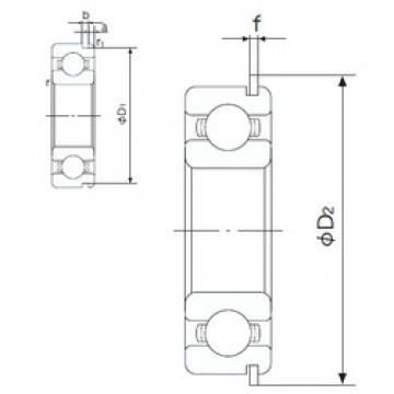 NACHI 6312NR deep groove ball bearings