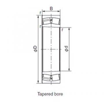 NACHI 24122EX1K30 cylindrical roller bearings