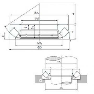 NACHI 29488E thrust roller bearings