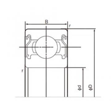 NACHI 6019ZZ deep groove ball bearings
