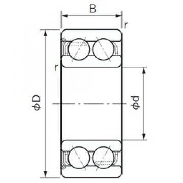NACHI 5209Z angular contact ball bearings