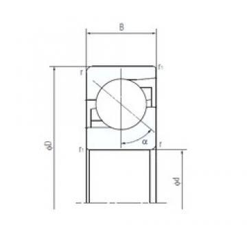 NACHI 40TAF09 thrust ball bearings