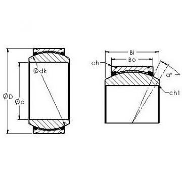 AST GE220XT/X-2RS plain bearings