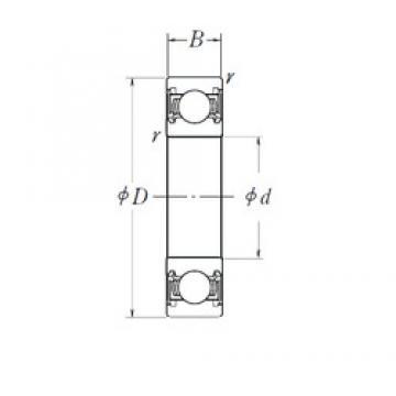 NACHI 6001/012-2NSL deep groove ball bearings