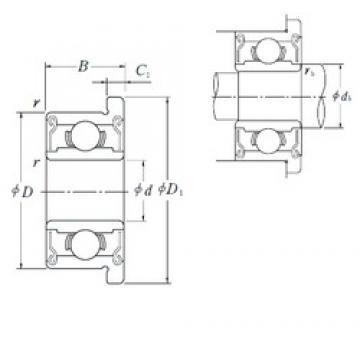 ISO F635ZZ deep groove ball bearings