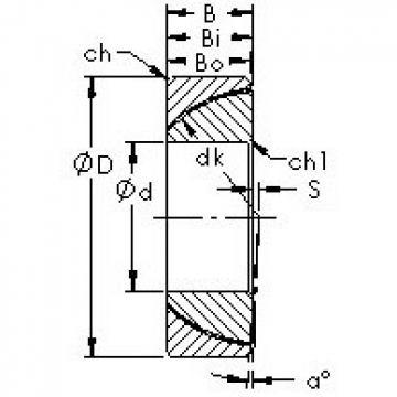 AST GAC90T plain bearings