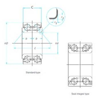 FAG SA0057 angular contact ball bearings