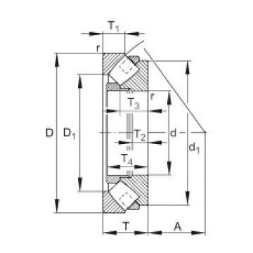 FAG 293/560-E-MB thrust roller bearings