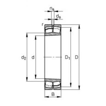 FAG 22311-E1-K spherical roller bearings
