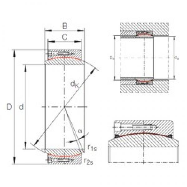INA GE 420 DW plain bearings #2 image