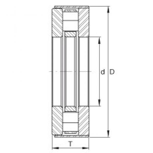 INA RCT30-B thrust roller bearings #2 image