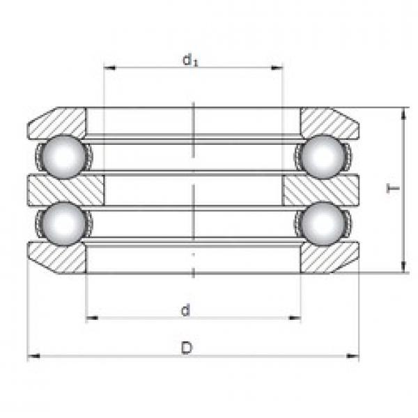 ISO 54212 thrust ball bearings #2 image