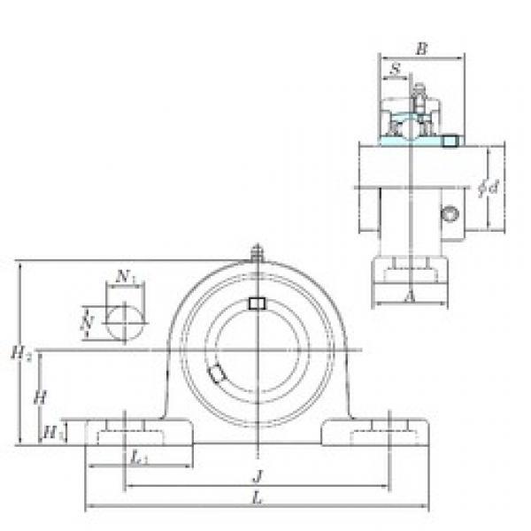 KOYO UCSP205H1S6 bearing units #3 image