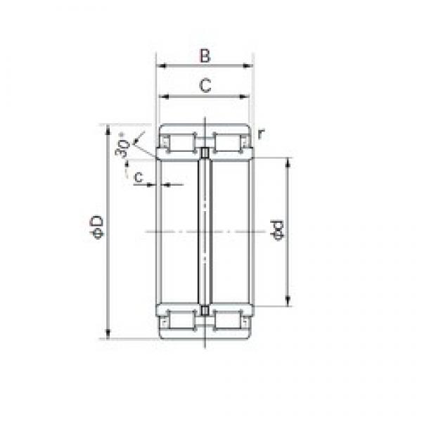 NACHI E5022 cylindrical roller bearings #2 image