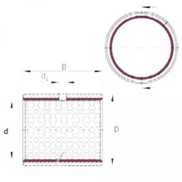 INA EGB1820-E50 plain bearings #2 image