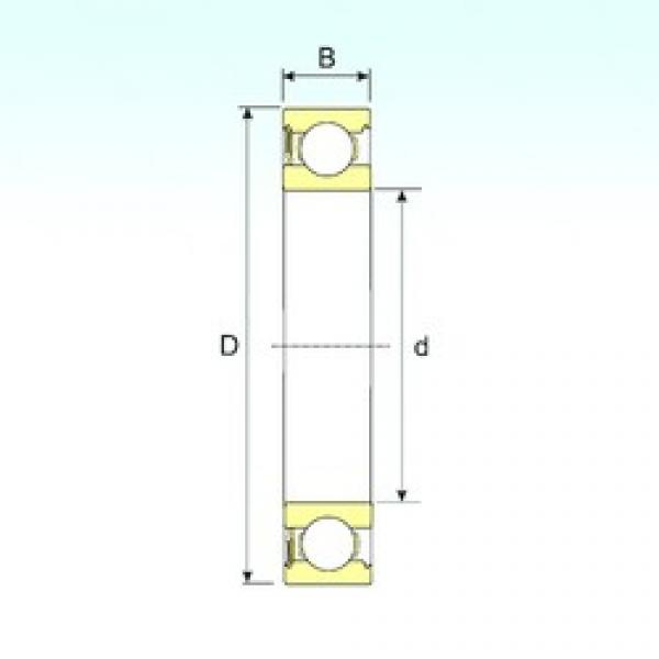 ISB 6217-RS deep groove ball bearings #2 image