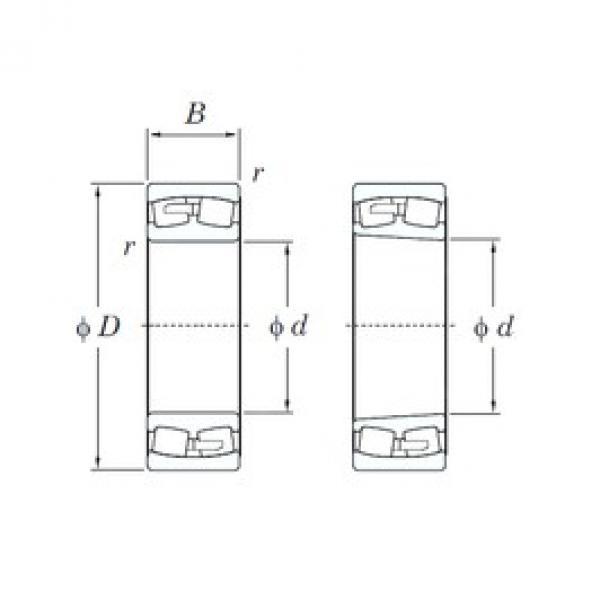 KOYO 239/560R spherical roller bearings #2 image