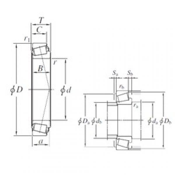 KOYO M255449/M255410 tapered roller bearings #2 image