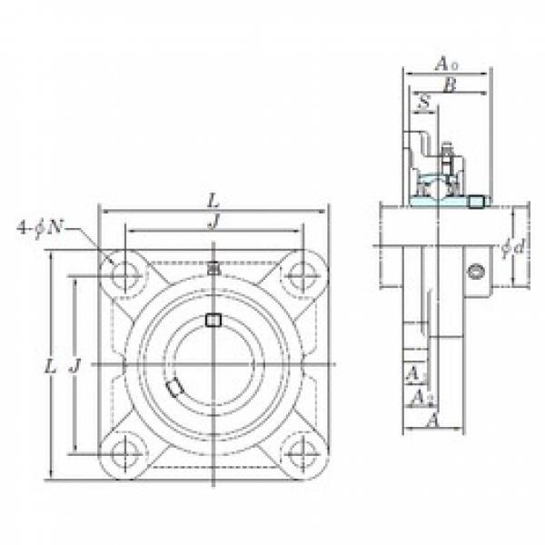 KOYO UCFX12 bearing units #3 image
