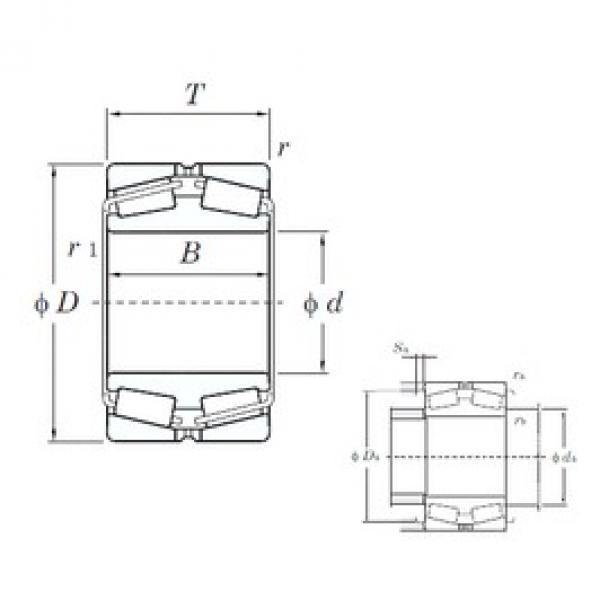 KOYO 45360 tapered roller bearings #2 image
