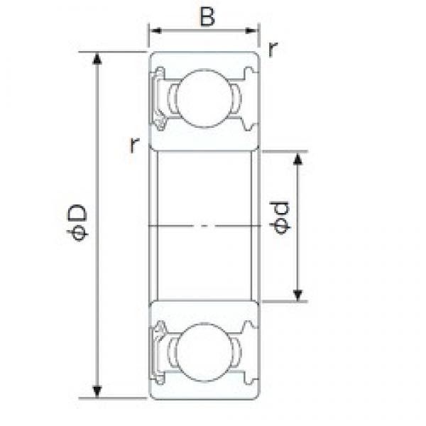 NACHI 6801NSE deep groove ball bearings #2 image